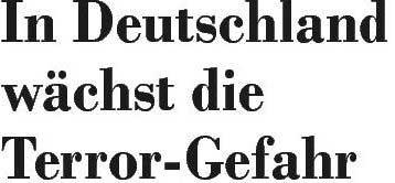 Überschrift der Eckernförder Zeitung vom 16. März 2007