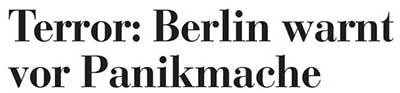 Überschrift der Kieler Nachrichten vom 16. März 2007
