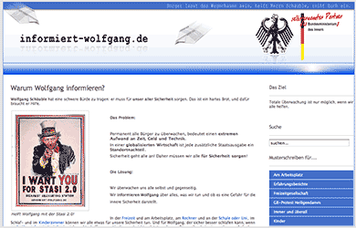 Informiert Wolfgang