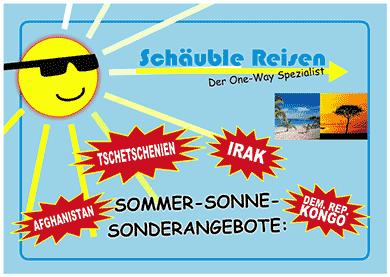 Schäuble-Reisen