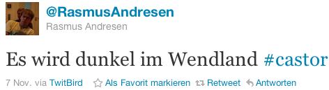 @RasmusAndresen: Es wird dunkel im Wendland